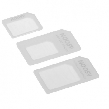 4in1 Set Micro SIM Adapter + Nano SIM Adapter + S. SIM Adapter + Werkzeug