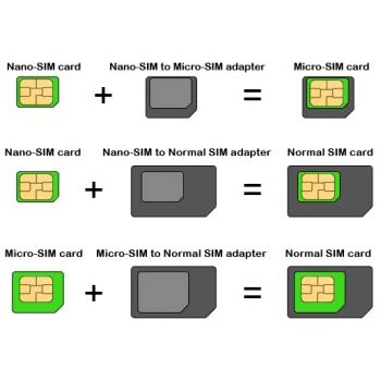 adapter micro sim auf nano sim